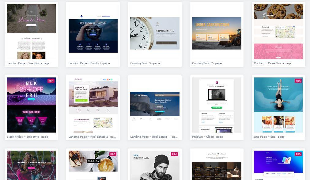 Microsite / Página de apresentação